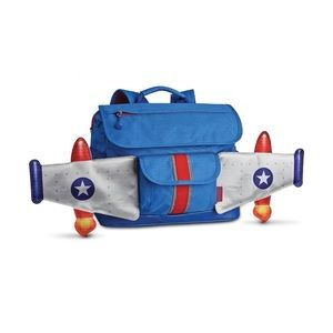 SMALL Rocketflyer Backpack with Wings for Kids